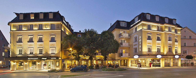 Hotel Schlosskrone Füssen Ihr Hotel Füssen Nahe Neuschwanstein - Minecraft haus im berg ideen