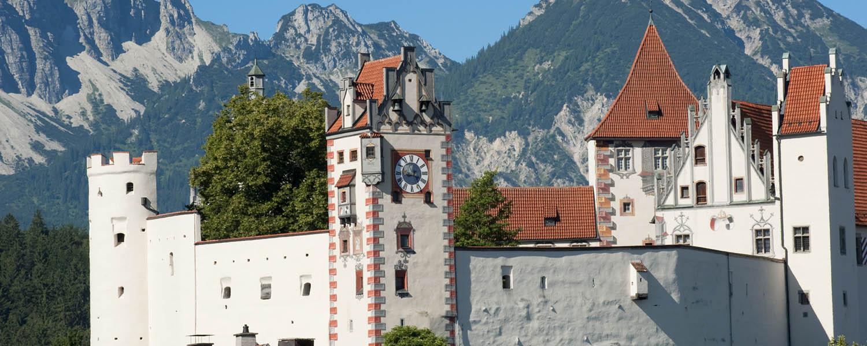 Schloss Neuschwanstein Hotel In Der Nahe