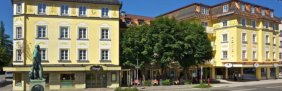 Hotels Schloss Linderhof Wellness